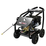 SIMPSON SuperPro Roll-Cage 4000 PSI at 3.5 GPM KOHLER CH395 with AAA Triplex Plunger Pump Cold Water Professional Gas Pressure Washer, Model # SW4035KADM