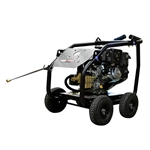 SIMPSON SuperPro Roll-Cage 4400 PSI at 4.0 GPM KOHLER CH440 with AAA Triplex Plunger Pump Cold Water Professional Gas Pressure Washer, Model # SW4440KCDM