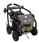 SIMPSON SuperPro Roll-Cage 4400 PSI at 4.0 GPM HONDA GX390 with AAA Triplex Plunger Pump Cold Water Professional Belt Drive Gas Pressure Washer, Model # SW4440HCBDM