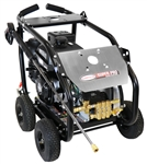 SIMPSON SuperPro Roll-Cage 4400 PSI at 4.0 GPM KOHLER CH440 with AAA Triplex Plunger Pump Cold Water Professional Belt Drive Gas Pressure Washer, Model # SW4440KCBDM