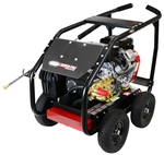 SIMPSON SuperPro Roll-Cage 4000 PSI at 5.0 GPM VANGUARD with COMET Triplex Plunger Pump Cold Water Professional Gear Drive Gas Pressure Washer, Model # SW4050VCGL