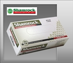 Shamrock 66000 Series Industrial Vinyl Disposable Gloves, Clear, Powder-Free, Smooth, Medium (10 boxes of 100)