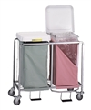 Double Easy Access Hamper w/ Foot Pedal, # 674