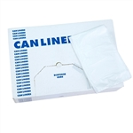 Clear Disposable Poly-Liners, # 690NS