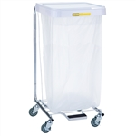 Single Medium Duty Hamper w/ Foot Pedal, # 692