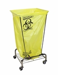 Collapsible Tension Hamper w/Casters, # 699