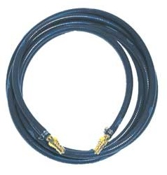 25 Foot Solution Hose Assembly with 1/4 in. Female and Male Quick Disconnects for Sandia Sniper 12 Gallon Carpet Extractor #80-0502