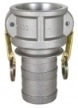 "BE Pressure 90.392.200 Coupler, 2"" Male Barb"