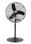 "Air King 9174 24"" Industrial Grade Oscillating Pedestal Fan, 1/3 HP"