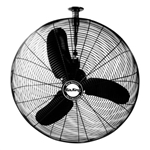 "Air King 9375 30"" Oscillating Ceiling Mount Fan, 1/3 HP"
