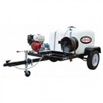 SIMPSON TRAILER, Cold Water 3200 PSI Mobile Pressure Washer w/ HONDA GX200 # 95000