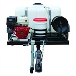 SIMPSON Trailer, Recoil Start, Cold Water 3800 PSI Mobile Pressure Washer w/ HONDA GX270 # 95001