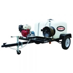 SIMPSON Trailer Electric Start, Cold Water 4200 PSI Mobile Pressure Washer w/ HONDA GX200 # 95003