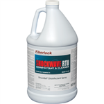 Fiberlock, Antimicrobial, Shockwave Cleaner & Disinfectant, Case of 4- 1 Gallon Bottles, A27495