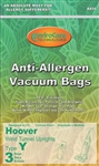 Replacement Hoover Anti-Allergen Bag Type Y (3pk) A856