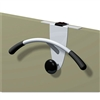 Alba OVERThe Panel Garment Partition Valet, Chrome/Blac