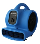 OmniDry Mini Air Mover - 2.3Amp, 1/5 HP, 3 Speed, GFCI AC085
