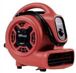 OmniDry Mini Air Mover - 2.3Amp, 1/5 HP, 3 Speed, GFCI AC085R
