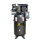 BE Pressure, AC1080B3, 80 Gallon Air Compressor, 10HP, 208/230V 3PH 32.2A / 460-480V 3PH 16.1A, Three Phase, AC1080B3