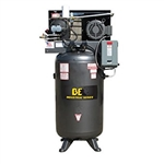 BE Pressure AC1080S Open Rotary Screw Compressor, 208-230/430V, 3 Phase, 80 gal, 10 hp , AC1080S
