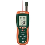 Extech HD500: Psychrometer with InfraRed Thermometer Hu