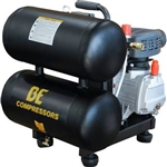 Be Pressure 5 Gallon Twin Tank Single Stage Compressor , AC205X