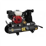 BE Pressure AC658HB 8 Gallon Wheeled Gas Air Compressor 196cc Honda, AC658HB