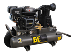 BE Pressure 8 Gallon Wheeled Gas Compressor # AC708RB