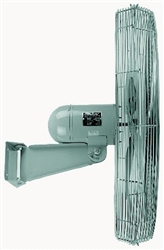 "TPI 30"" 1/4 HP Industrial Wall Mount Fan ACU30W"