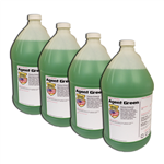 Agent Green Soap Additive Soft Wash Chlorine Enhancer, Surfactant, and Mild Scent Cover, Case of 4 Gallons