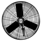 industrial fans, air king 9025, industrial oscillating wall mount fan