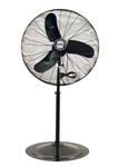 "Air King 9175 30"" 1/3 HP Industrial Grade Oscillating Pedestal Fan"