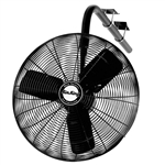 "Air King 9675 30"" 1/3HP Oscillating I-Beam Mount Fan"