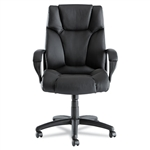 Alera Fraze High-Back Swivel/Tilt Chair, Black Leather # ALEFZ41LS10B