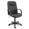 Alera Sparis Executive High Back Swivel/Tilt Chair, Lea