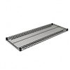 Alera Wire Shelving, Extra Shelves, 48w x18d x72h, 2 Sh