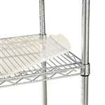 Alera Shelf Liners For Wire Shelving, 36w x 18d, Clear