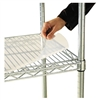 Alera Shelf Liners For Wire Shelving, 36w x 24d, Clear
