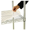 Alera Shelf Liners For Wire Shelving, 48w x 18d, Clear