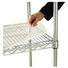 Alera Shelf Liners For Wire Shelving, 48w x 24d, Clear