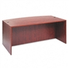 Alera Valencia Series Bow Front Desk Shell, 71w x 35-1/