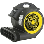 AirFoxx High Velocity 1 HP 3 Speed 3 Position 4000 CFM Air Mover / Carpet Dryer / Floor Dryer