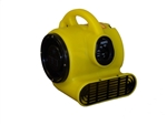 Bissell Mini Air Mover 1/5 HP 3 Speed 800 CFM, Stackable, 10.5 lbs, 15' Hospital Grade Yellow Safety Cord with Grounded 3 Prong Plug, AM5D
