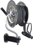 Pivoting S/S Hose Reel 3500 psi 150'