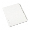 Avery Avery-Style Legal Side Tab Divider, Title: 201-22