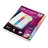 Avery Ready Index Contemporary Contents Divider, 1-12,