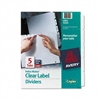 Avery Index Maker White Dividers for Copiers, Five-Tab,
