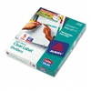 Avery Index Maker Divider w/Multicolor Tabs, Five-Tab,
