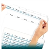 Avery Index Maker Clear Label Punched Dividers, Five-Ta