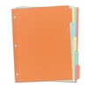 Avery Recycled Plain Dividers w/Five Multicolor Tabs, L